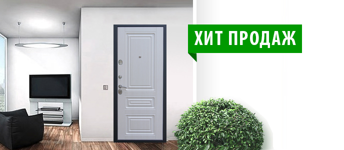 Дверь ZETTA - быстрая установка, надежность, гарантия!